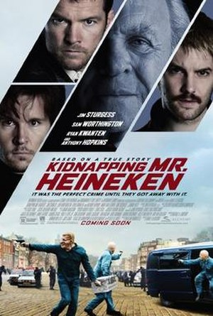 Kidnapping Freddy Heineken - U.S. theatrical release poster