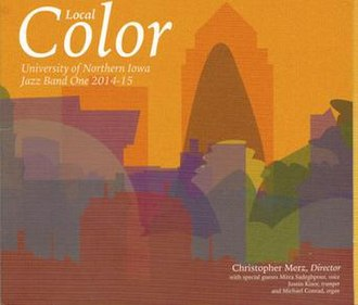 Local Color (University of Northern Iowa Jazz Band One album) - Image: LOCAL COLOR CD picture