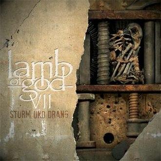 VII: Sturm und Drang - Image: Lamb of God VII Sturm und Drang