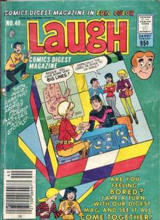 Laugh Comics Digest - Image: Laugh Comics Digest 40