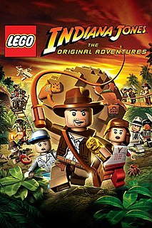 <i>Lego Indiana Jones: The Original Adventures</i> 2008 video game