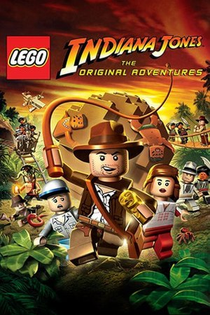 Lego Indiana Jones: The Original Adventures - Cover art for Lego Indiana Jones: The Original Adventures