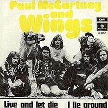 Live And Let Die Wings Single