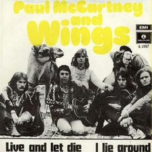 I Lie Around - Image: Live and Let Die (Wings single cover art)