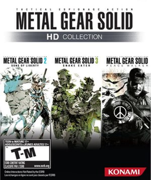 Metal Gear Solid HD Collection - Image: MGS HD NA Boxart X360