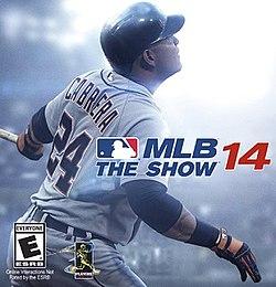 IMAGE(https://upload.wikimedia.org/wikipedia/en/thumb/e/ed/MLB_14_The_Show_Cover_Art.jpg/250px-MLB_14_The_Show_Cover_Art.jpg)