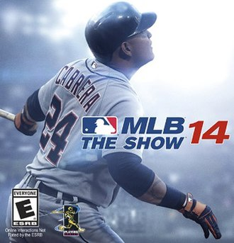 MLB 14: The Show - Image: MLB 14 The Show Cover Art