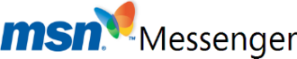 Windows Live Messenger - MSN Messenger logo, 1999–2006