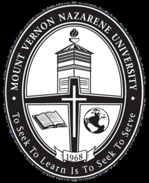 Mount Vernon Nazarene University - Seal of Mount Vernon Nazarene University