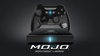 Mojo (microconsole) Android-based video game microconsole