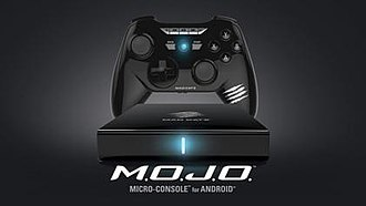 Mad Catz - Mad Catz's M.O.J.O. Android-OS microconsole and controller