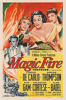 <i>Magic Fire</i> 1955 film by William Dieterle