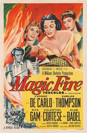 Magic Fire - Film poster