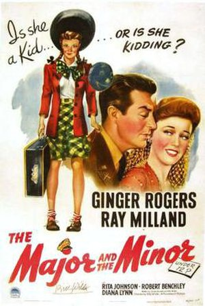 The Major and the Minor - Theatrical release poster