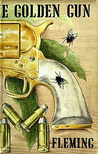 <i>The Man with the Golden Gun</i> (novel) novel by Ian Fleming