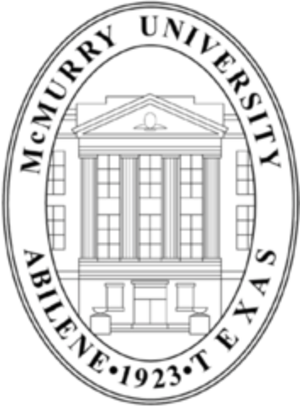 McMurry University - Image: Mc Murry University seal