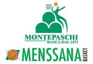 Mens Sana 1871 Basket - Club logo during the Montepaschi era