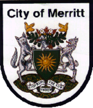 Merritt, British Columbia - Image: Merritt Coat of Arms