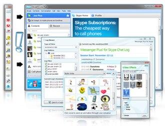 Messenger Plus! - Messenger Plus! for Skype