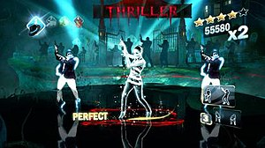 Michael Jackson: The Experience - The Kinect version of the game includes full body motion technology and judges on how well the moves are done.
