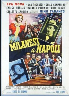 <i>Milanese in Naples</i> 1955 film by Enzo Di Gianni