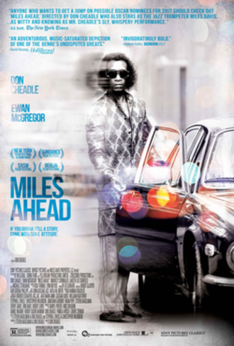Miles Ahead (film) - Theatrical release poster
