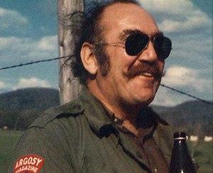 Milt Machlin - Machlin in Papua New Guinea, 1969