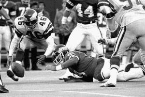 Miracle at the Meadowlands - Image: Miracle at the Meadowlands fumble
