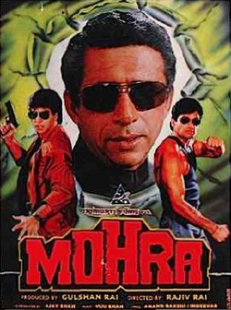 Mohra - Poster