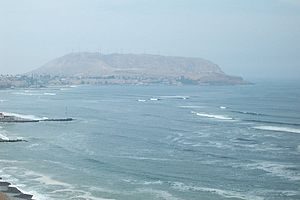 Chorrillos District - View of the Morro Solar