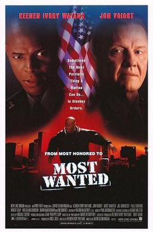 Most Wanted (1997 film) - Theatrical release poster