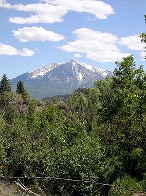 Roaring Fork Valley - Image: Mount Sopris