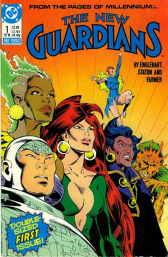 New Guardians - The New Guardians, art by Joe Staton