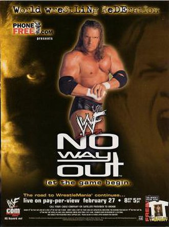 No Way Out (2000) - Promotional poster featuring Triple H