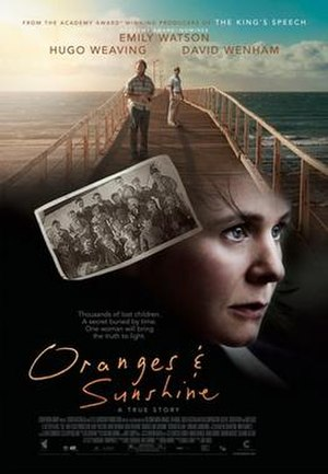 Oranges and Sunshine - Theatrical film poster