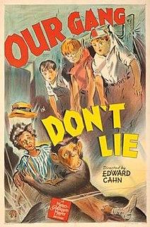 <i>Dont Lie</i> (film) 1942 film by Edward L. Cahn