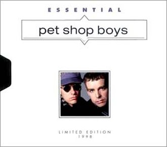 Essential (Pet Shop Boys album) - Image: PSB Essential