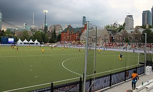 Back Campus Fields - Image: Pan Am Parapan Am Fields