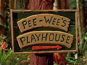 Pee-wee's Playhouse - Title card