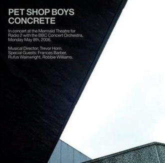Concrete (Pet Shop Boys album) - Image: Petshopboys concrete