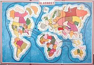 Glasnost The Game - Board of the game