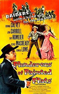 <i>Plunderers of Painted Flats</i> 1959 movie