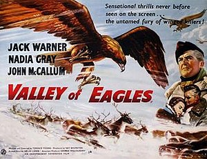 Valley of Eagles - Original British cinema poster