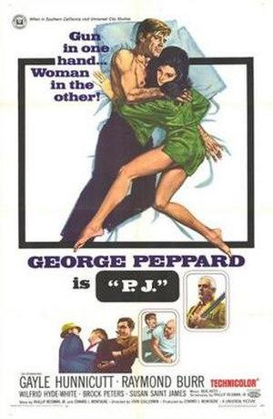 P.J. (film) - Image: Poster of P.J