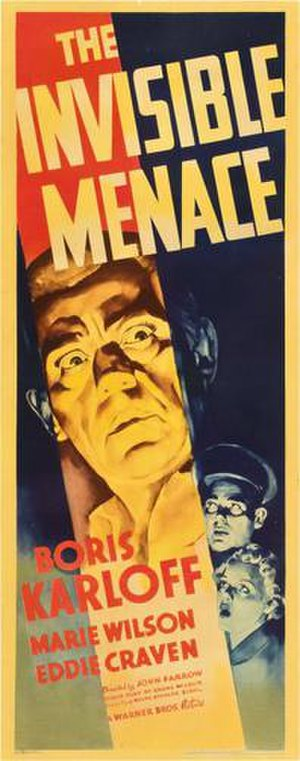The Invisible Menace - Film poster