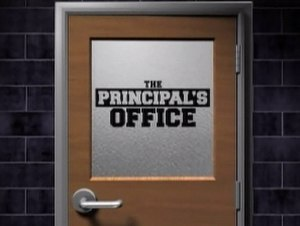 The Principal's Office - Image: Principal office TV