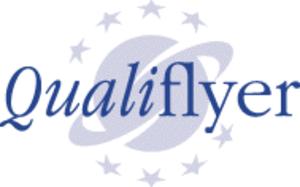 Qualiflyer - The Qualiflyer logo.