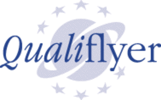 Qualiflyer - The Qualiflyer logo.