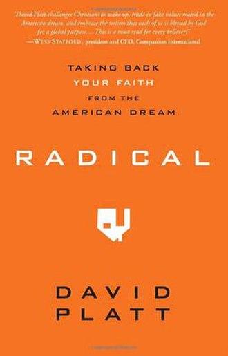 Radical (book) - Image: Radical by David Platt