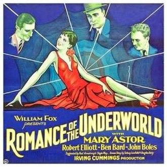 Romance of the Underworld - Film poster